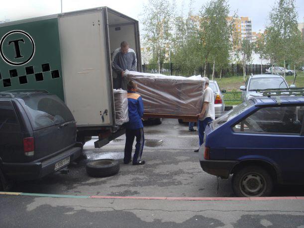 Заказ грузового такси.